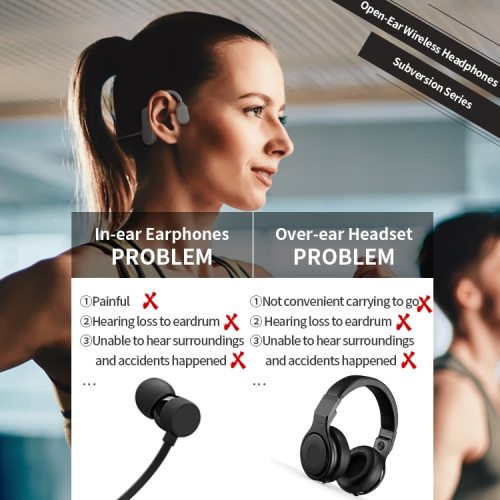 OPENEAR Duet Bone Bluetooth headphones conduction