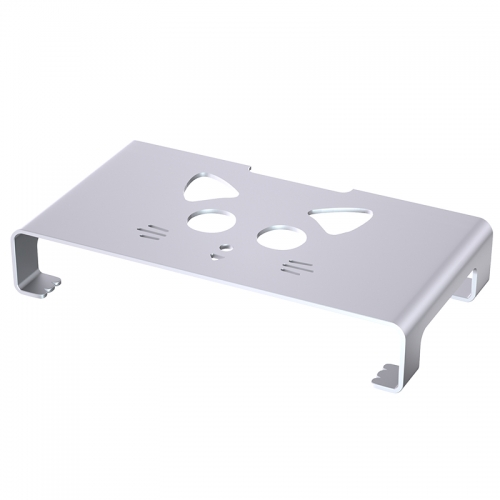 Aluminum Monitor Stand Riser Mouse Storage Desk Organizer laptop stand up to 27inch Laptop computer display holder